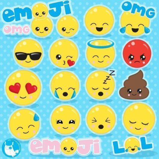 Emoji clipart