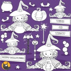 Witch stamps