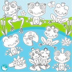 Frog prince stamps