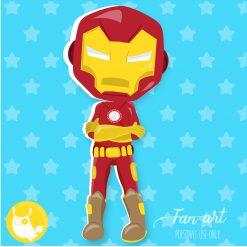 Iron Man clipart freebie
