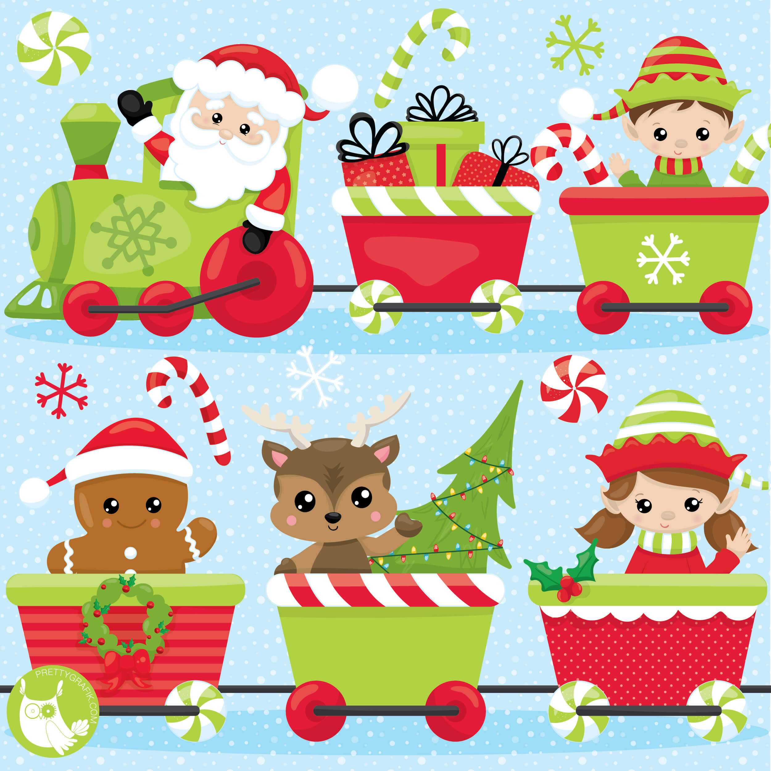 Christmas Party Images Clip Art.Christmas Party Train Clipart