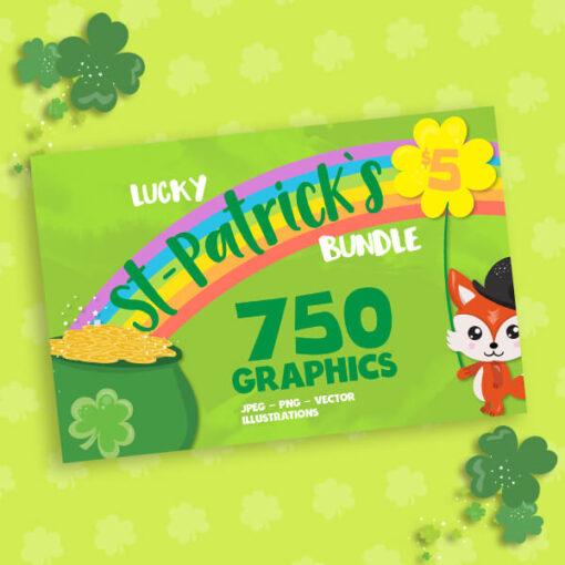 St-Patrick day Bundle designs